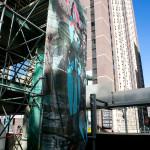 Mesh panel 16 x 35 ft