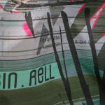 Detail of mesh panel