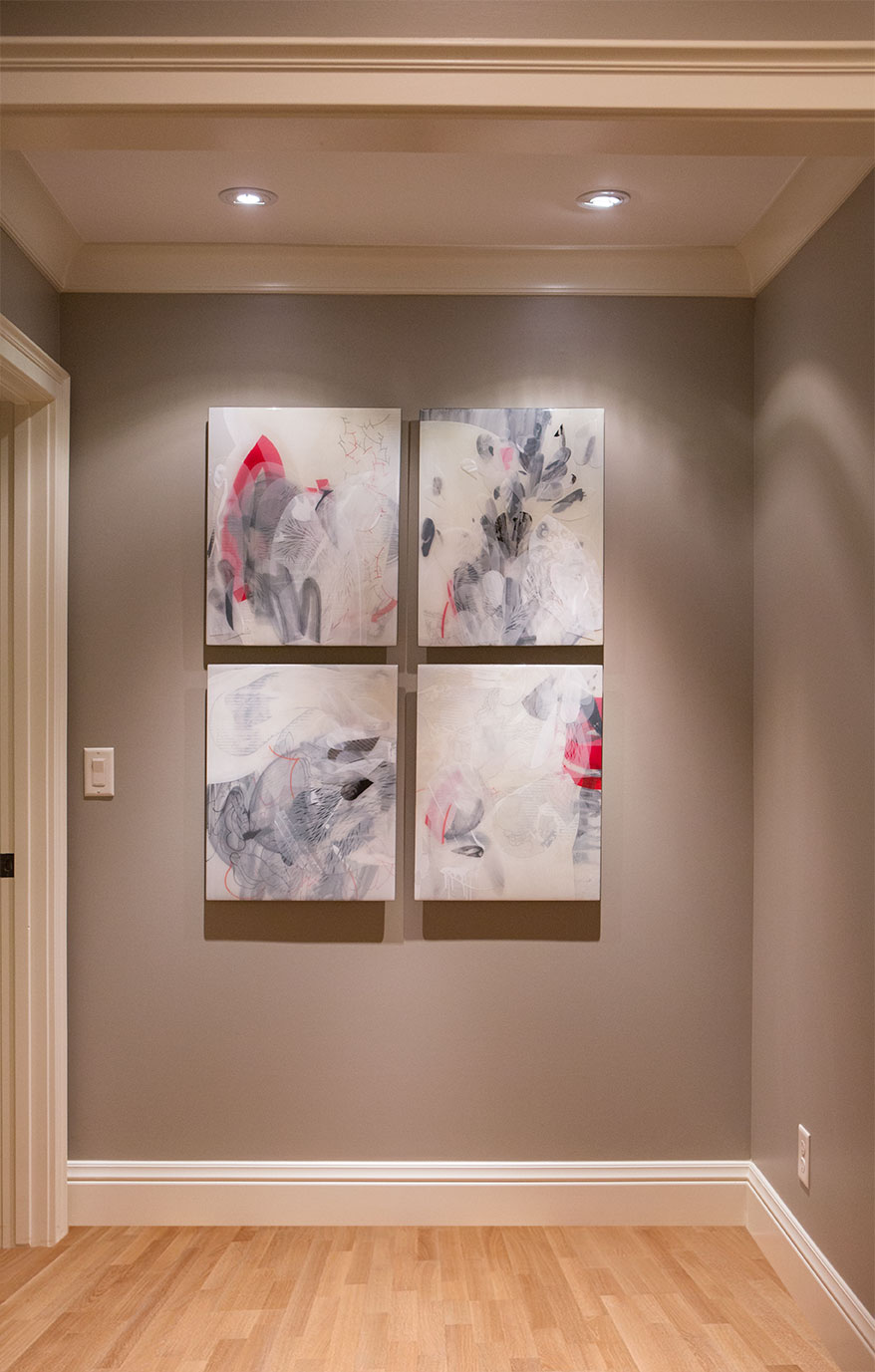 Installation at collectors residence