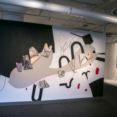 Installation view at MIAD